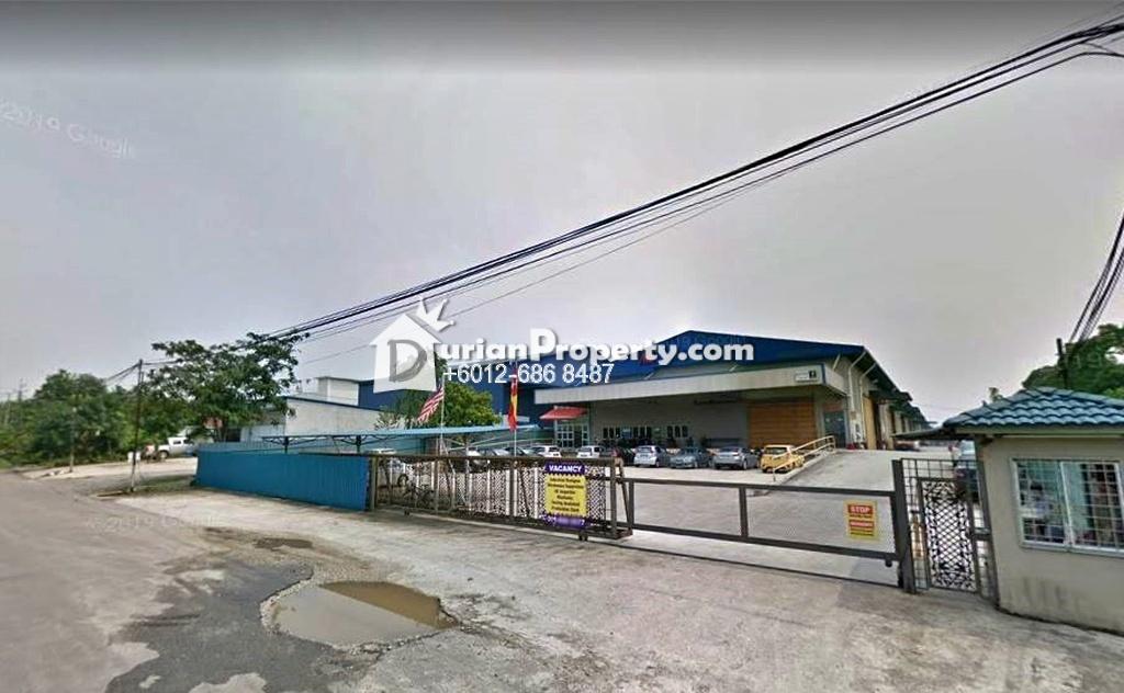 Detached Warehouse For Sale at Kampung Baru Sungai Buloh, Sungai Buloh