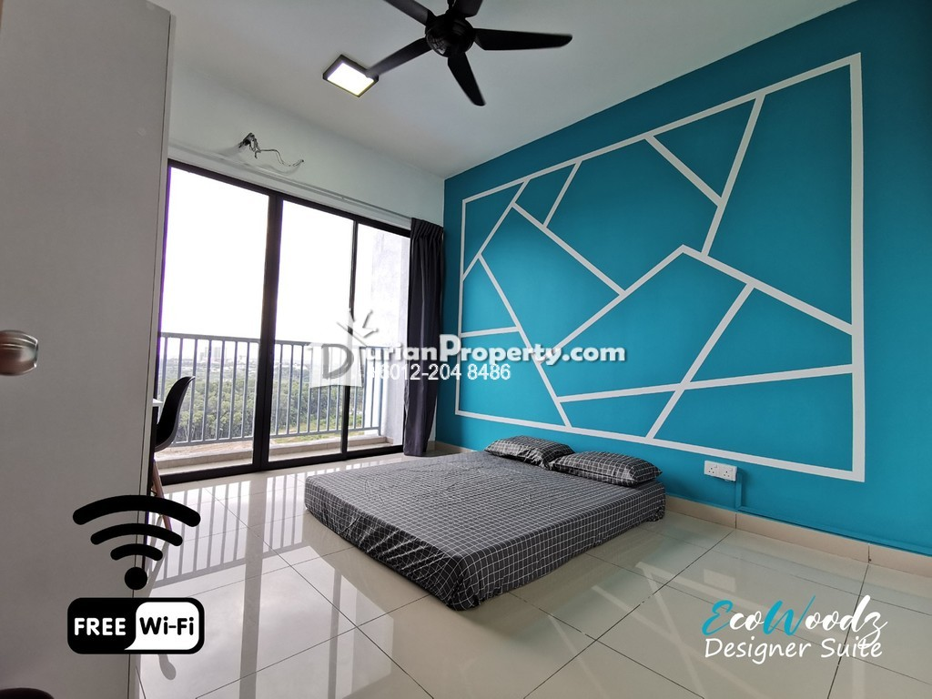 Condo Room for Rent at Green Park Residence, Kajang