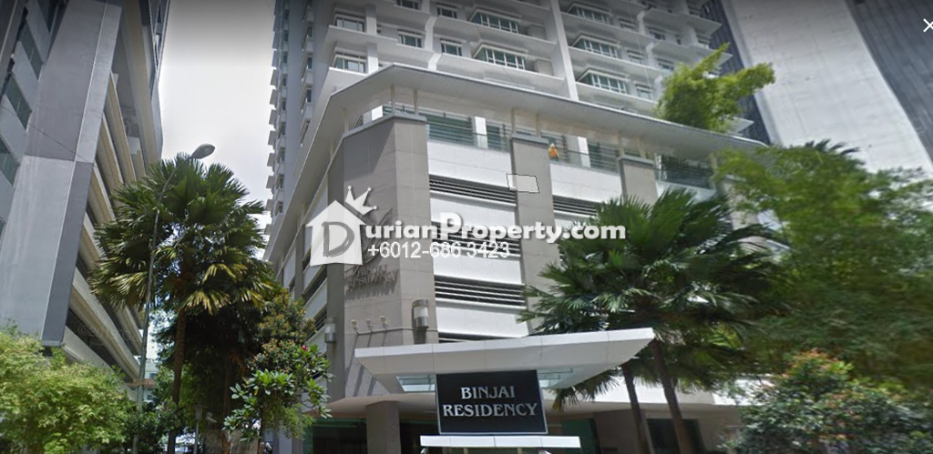 Condo For Sale at Binjai 8, KLCC