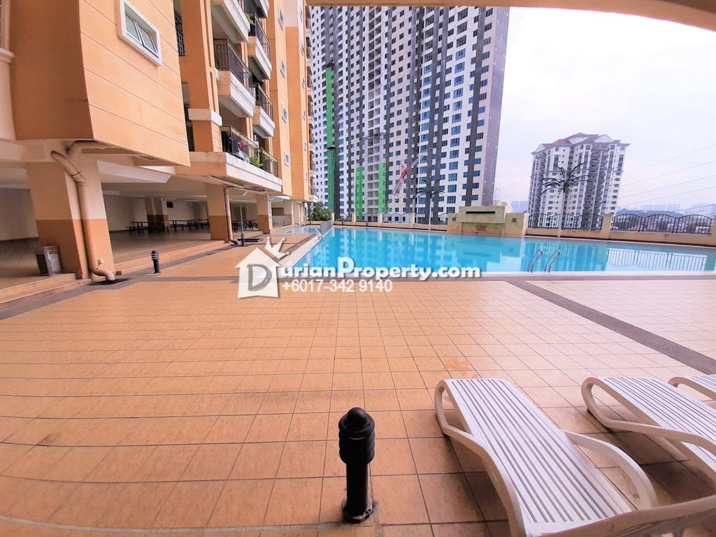 Condo For Rent at Continental Heights, Kuchai Lama