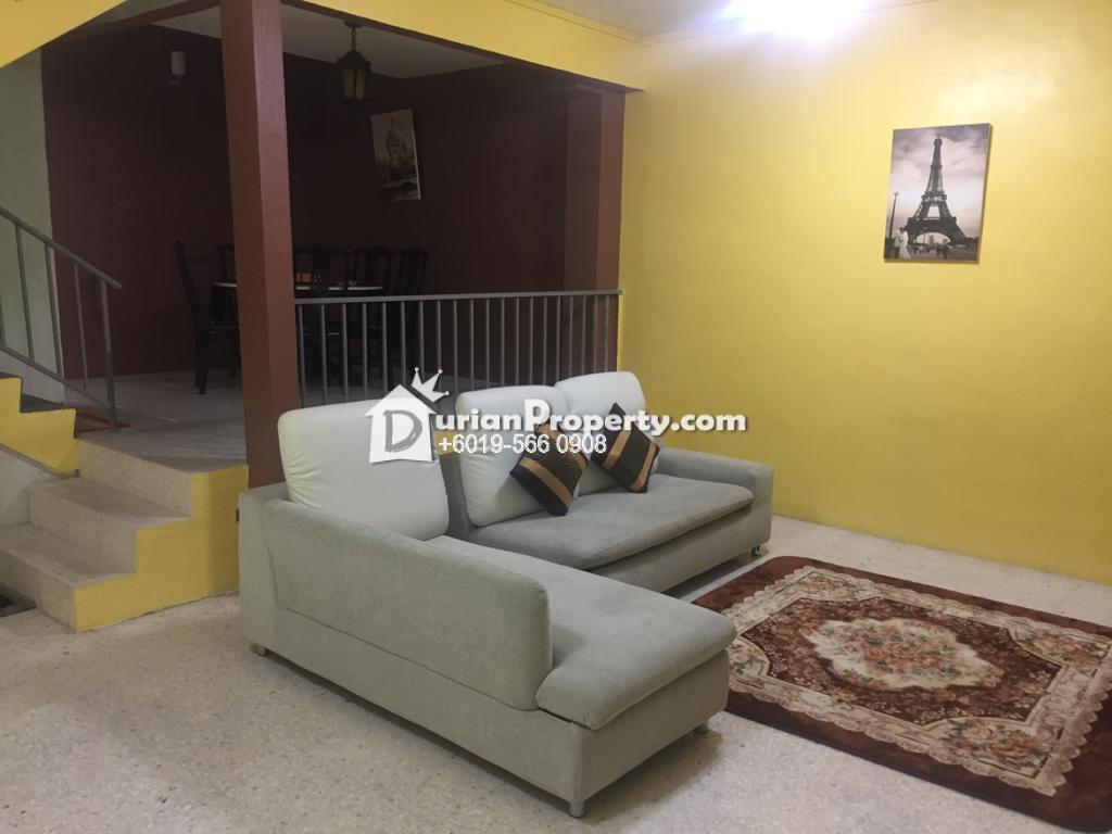 Terrace House For Sale at Taman Bunga Raya, Perai