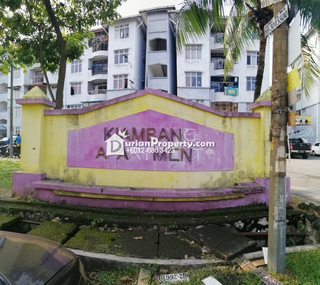 Apartment For Rent at Kiambang Apartment, Taman Putra Perdana