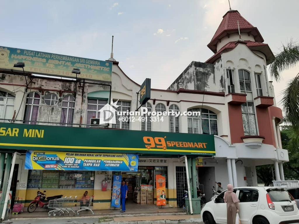 Shop Office For Rent at Taman Kota Pendamar, Port Klang