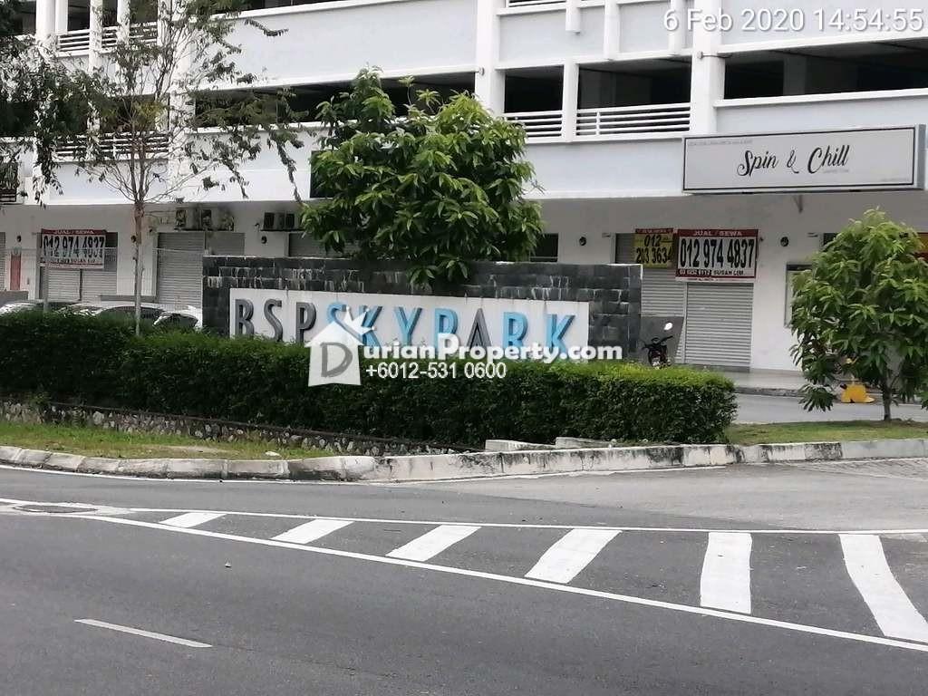 Shop Office For Auction at Bsp Skypark, Bandar Saujana Putra