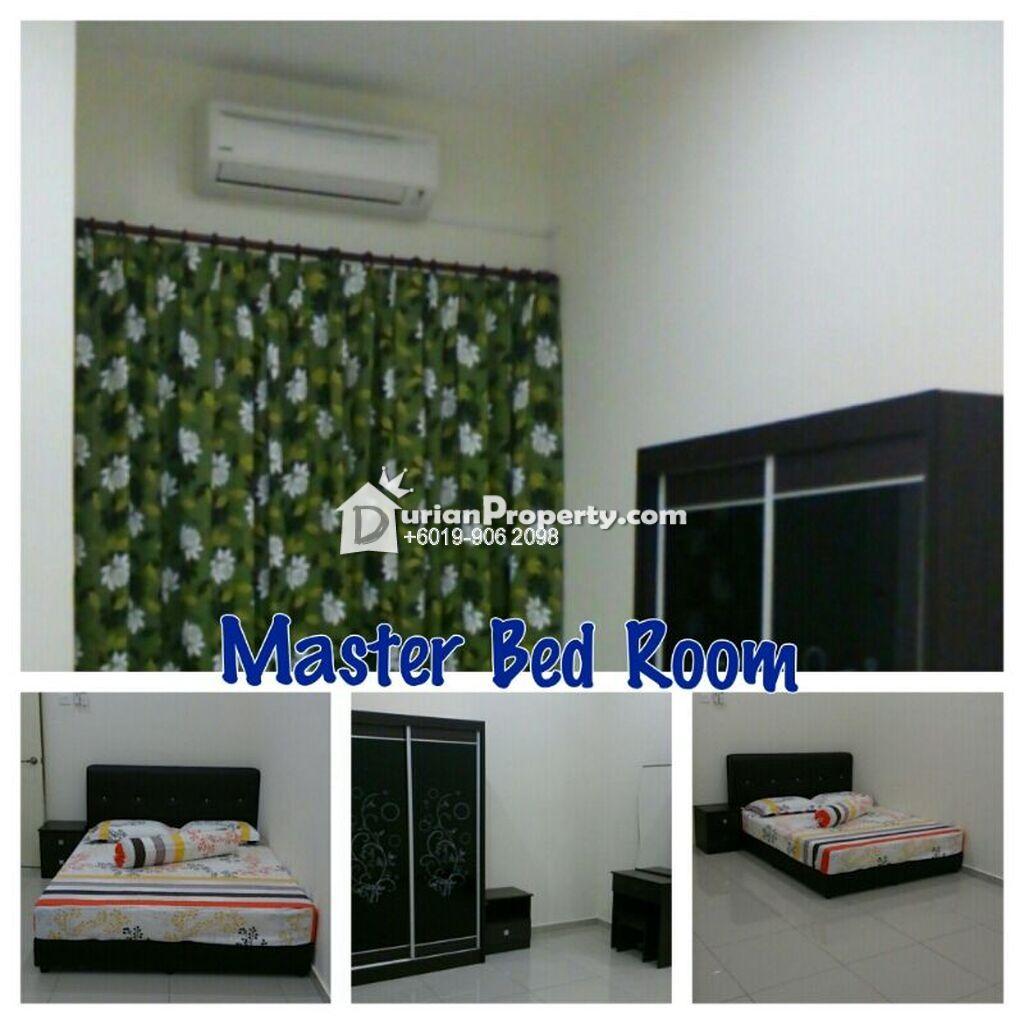 Semi D For Rent at Pusat Komersial Ayer Keroh, Bukit Katil