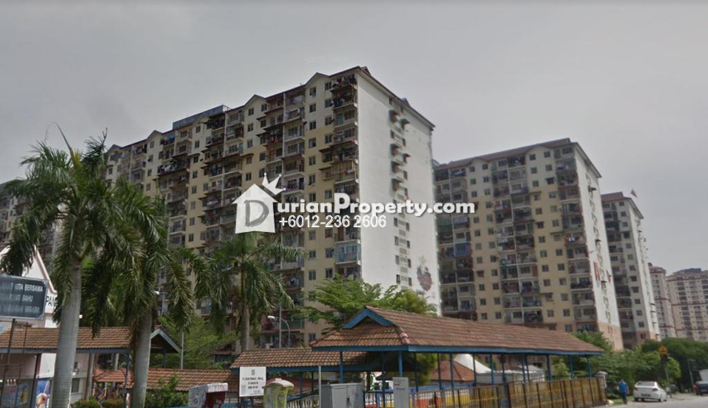 Flat For Sale at Seri Nilam Apartment, Ampang