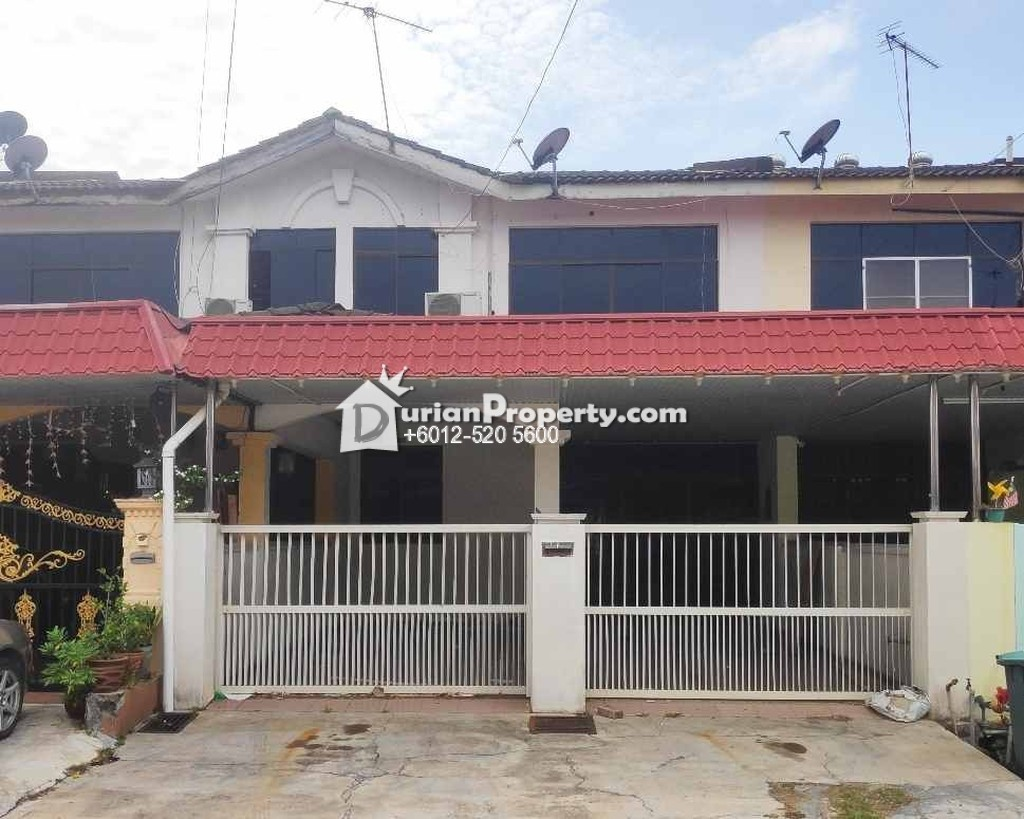 Terrace House For Auction at Lunas, Kedah