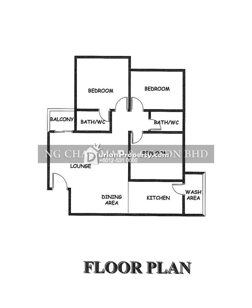 Apartment For Auction at Sri Puteri Apartment, Ukay