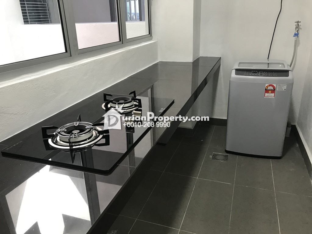 Serviced Residence For Rent at KL Traders Square, Setapak
