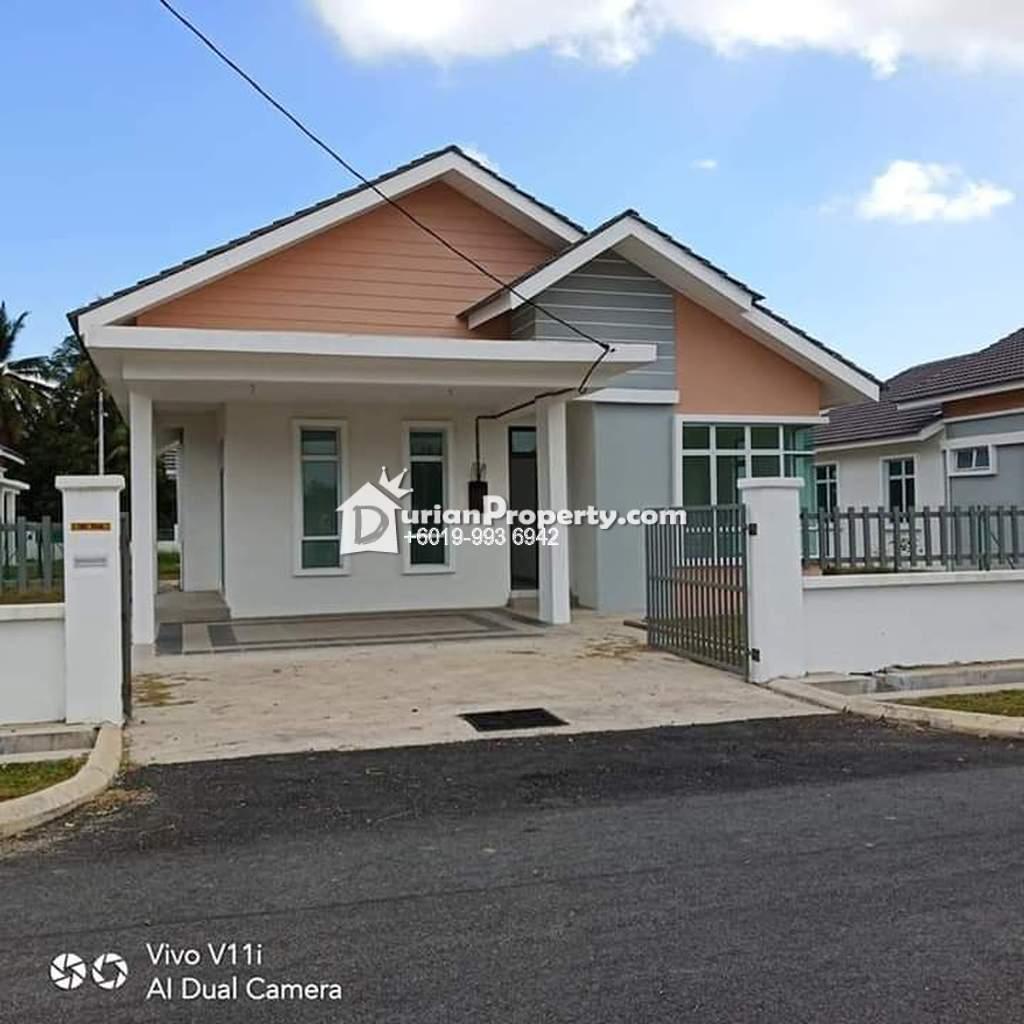 Bungalow House For Sale at Taman Bukit Gedup Utama, Dungun