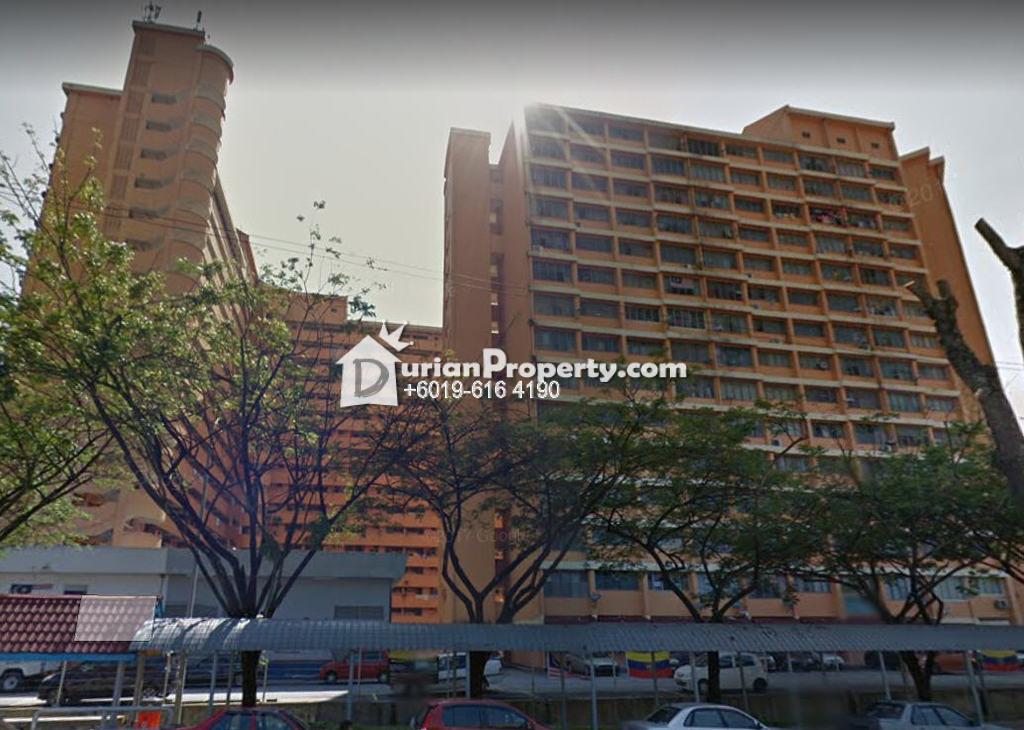 Apartment For Rent at Sri Tioman II, Setapak