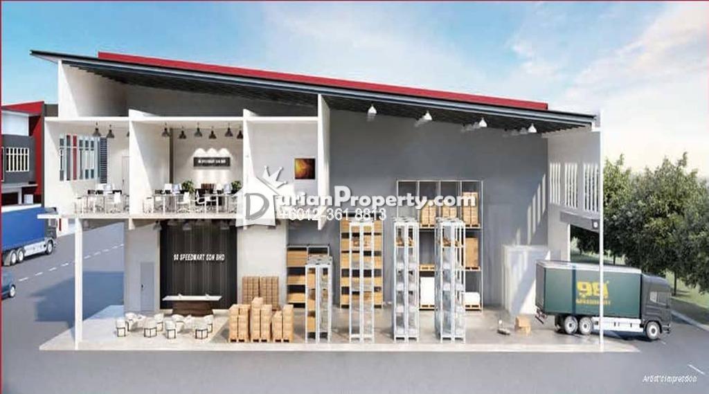 Terrace Factory For Sale at Desa Setapak, Setapak