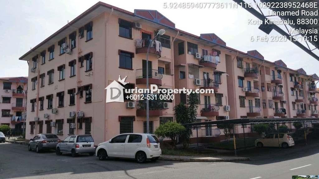 Apartment For Auction at Taman Penampang, Kota Kinabalu