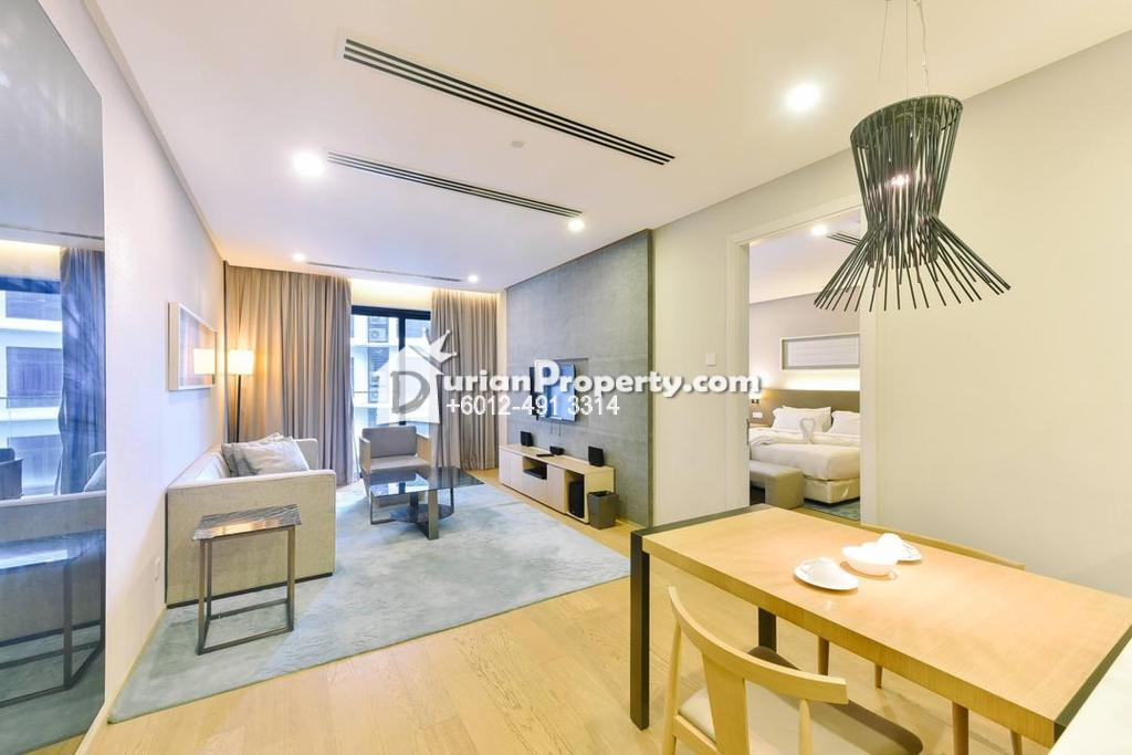 Serviced Residence For Rent at 188 Suites, KLCC