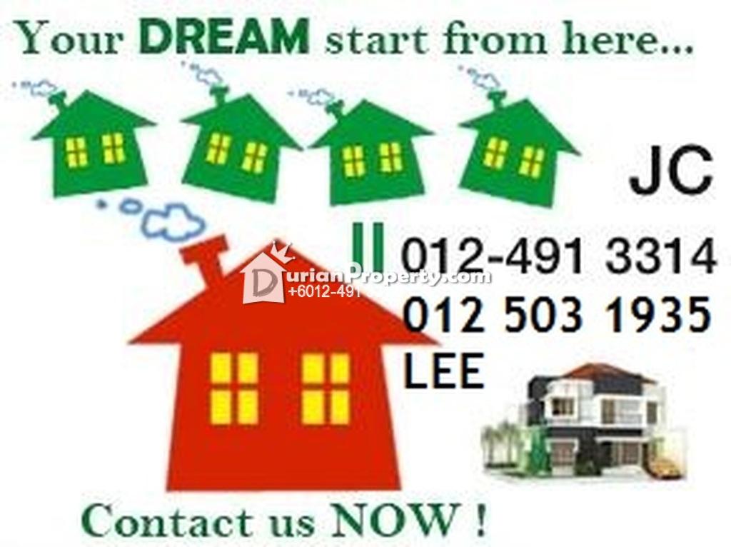 Apartment For Sale at Bandar Perai Jaya, Perai