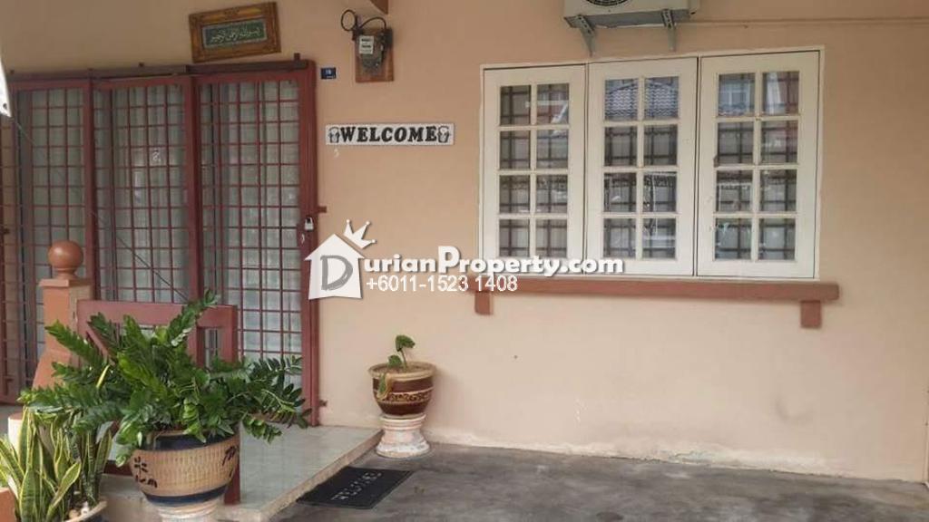 Terrace House For Rent at Taman Tasik Utama, Ayer Keroh