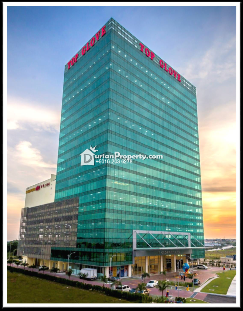 Retail Space For Rent at Top Glove Tower, Setia Alam