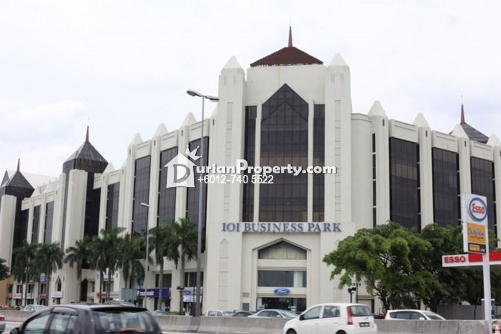 Shop Office For Rent at IOI Business Park, Bandar Puchong Jaya