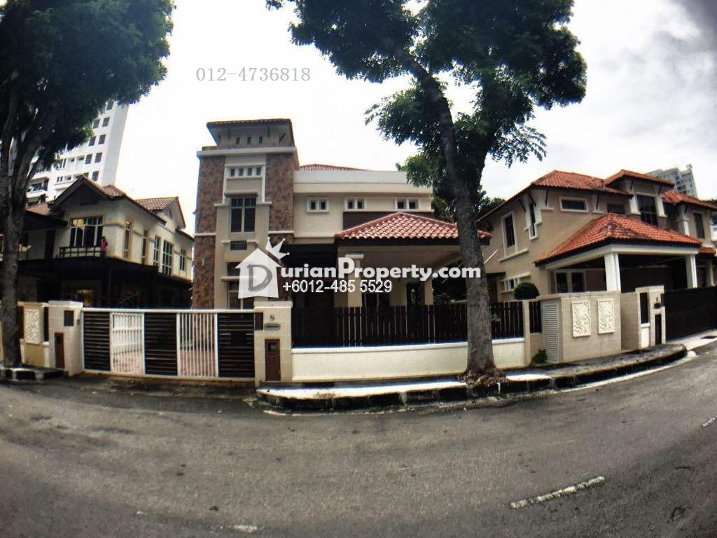 Bungalow House For Sale at Minden Heights, Gelugor