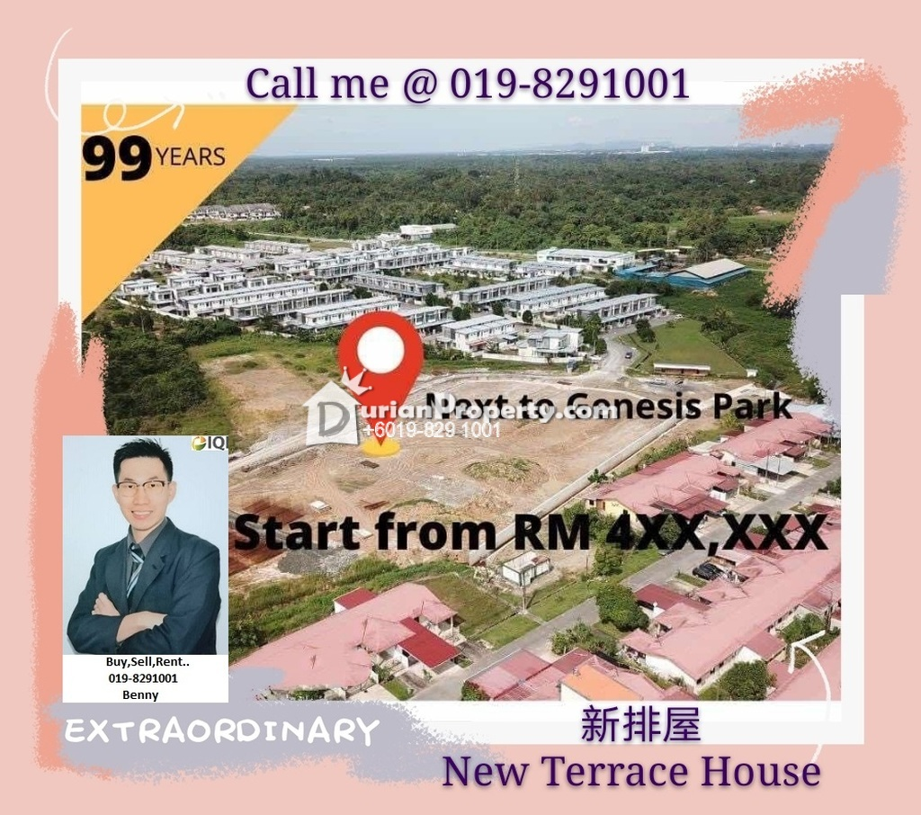 Terrace House For Sale at Batu Kawa, Kuching