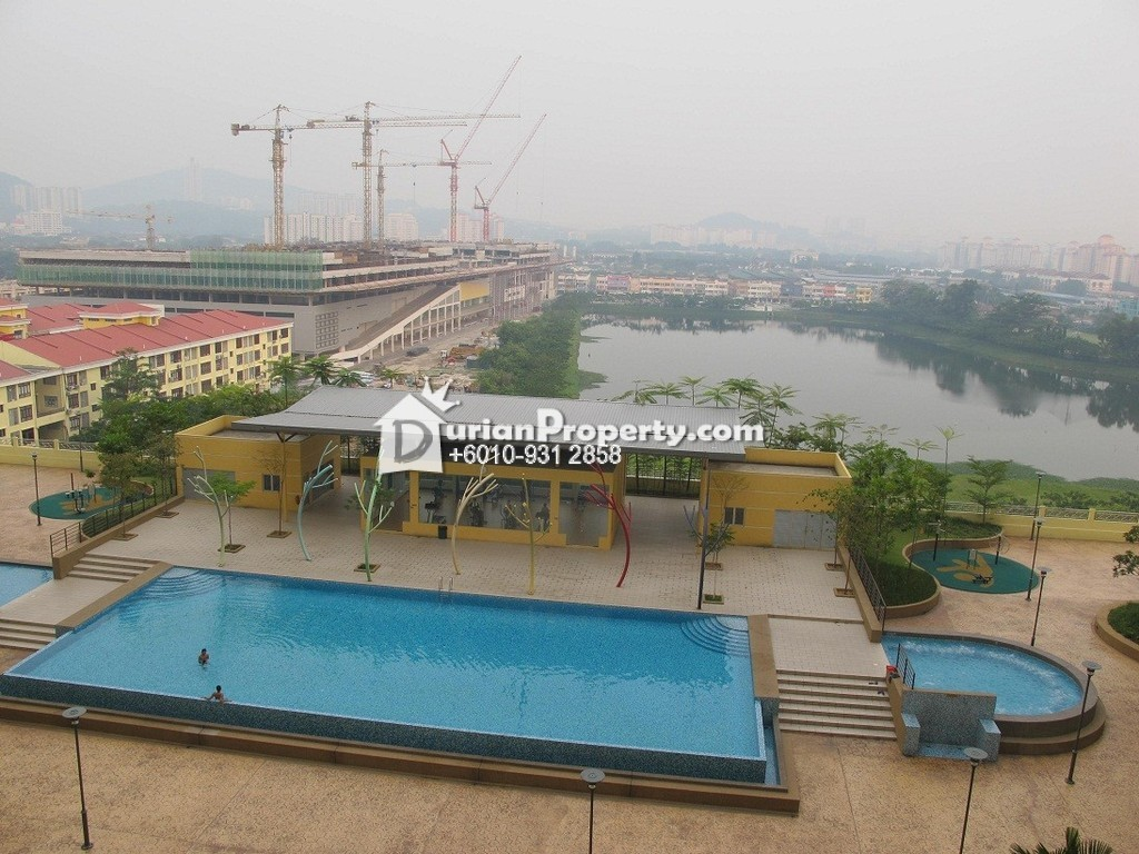 Condo For Rent at Platinum Lake PV12, Setapak