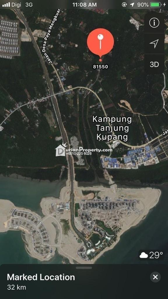 Agriculture Land For Sale at Gelang Patah, Johor Bahru