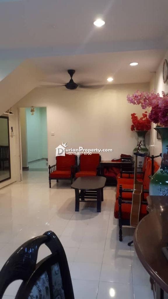 Terrace House For Sale at Taman Kasigui, Penampang