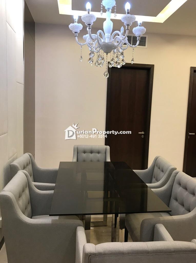 Serviced Residence For Rent at Dorsett Residences, Bukit Bintang