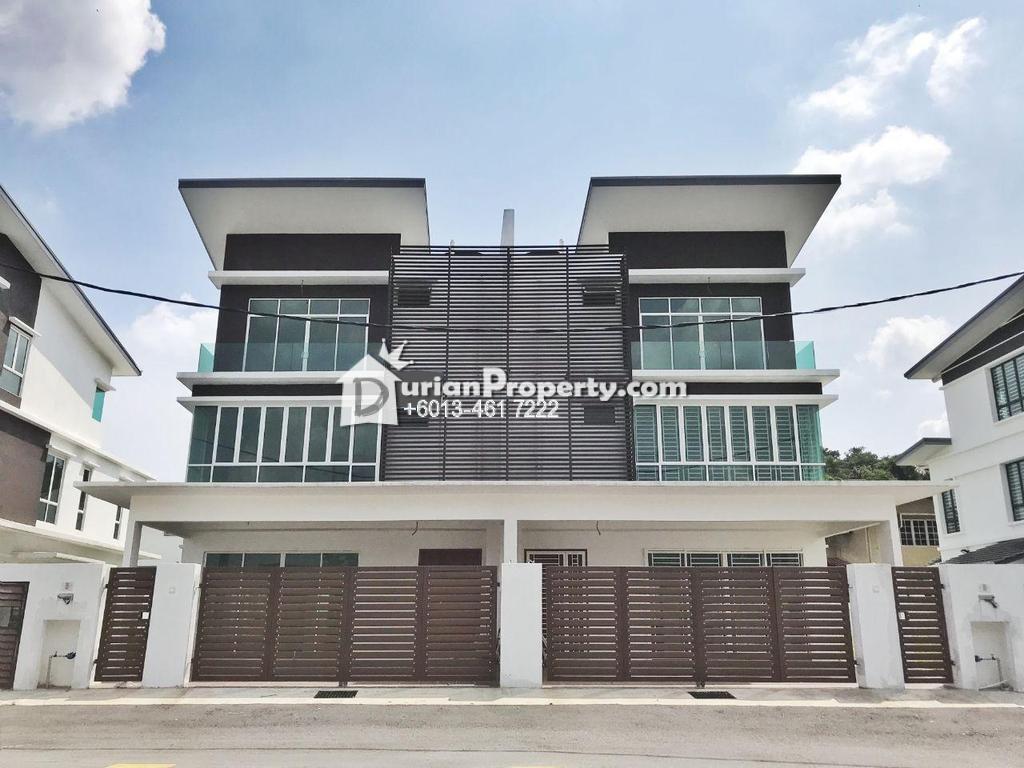 Semi D For Sale at Crestin Park, Kajang