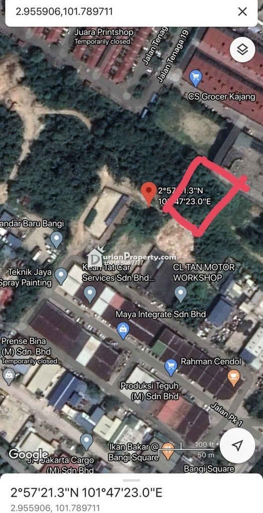 Residential Land For Rent at Pusat Hentian Kajang, Kajang