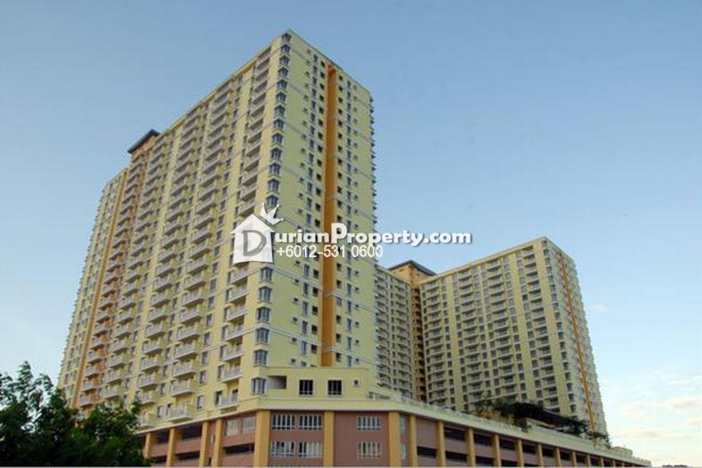 Apartment For Auction at Platinum Lake PV12, Setapak