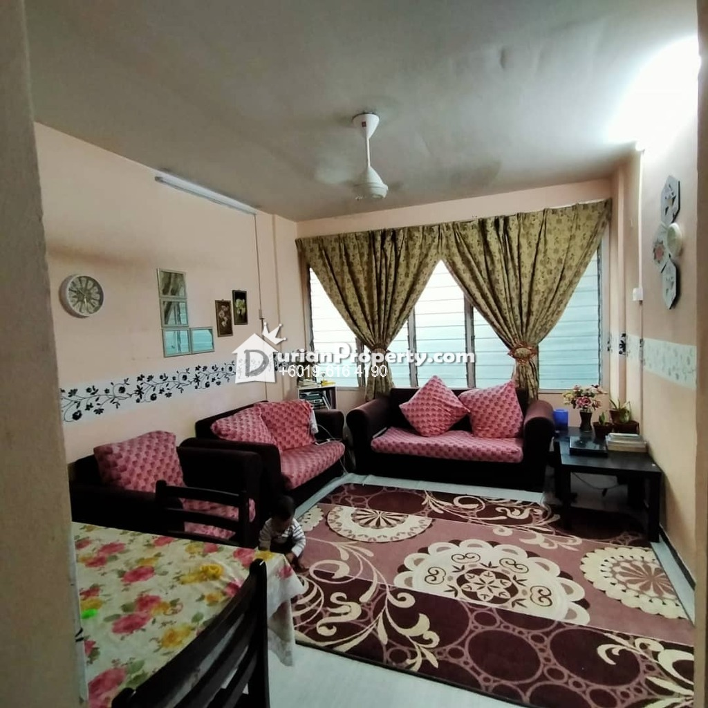 Apartment For Rent at Sri Tioman II, Setapak