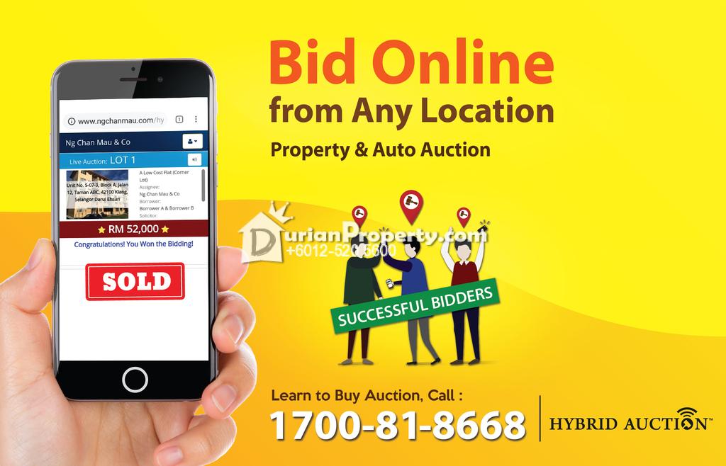 Semi D For Auction at Suria Villa, Bandar Sungai Long