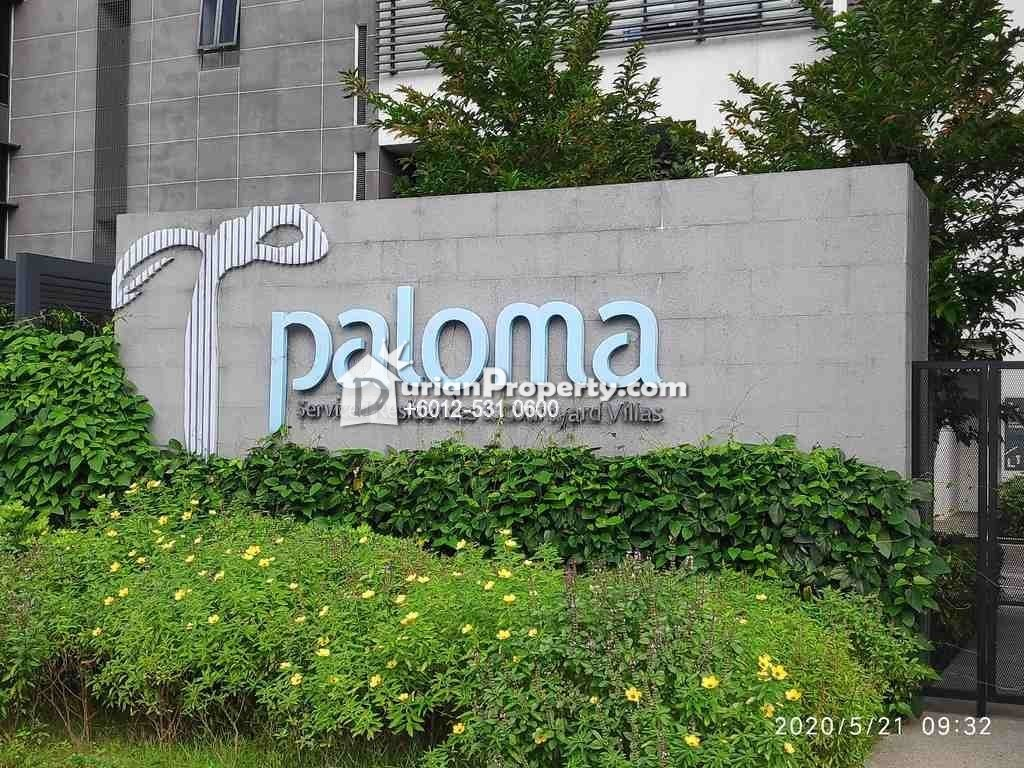 Apartment For Auction at Paloma Serviced Residence, Tropicana Metropark