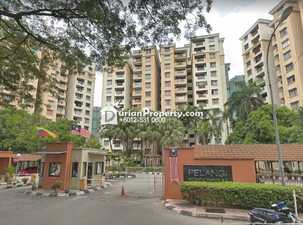 Condo For Auction at Pelangi Condominium, Sentul