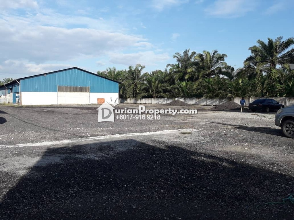 Detached Factory For Rent at Tanjung Dua Belas, Banting
