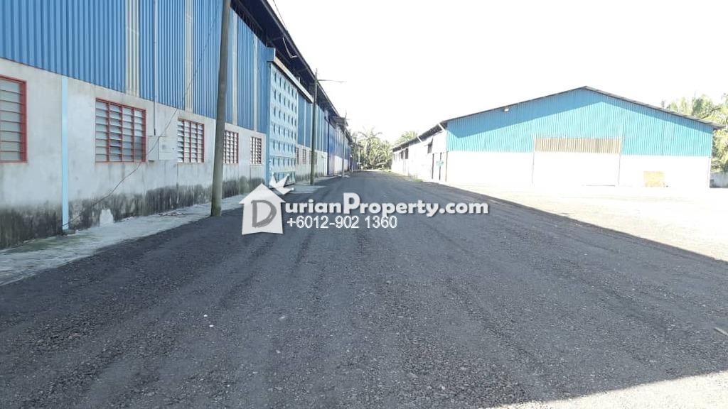 Semi-D Warehouse For Rent at Tanjung Dua Belas, Banting