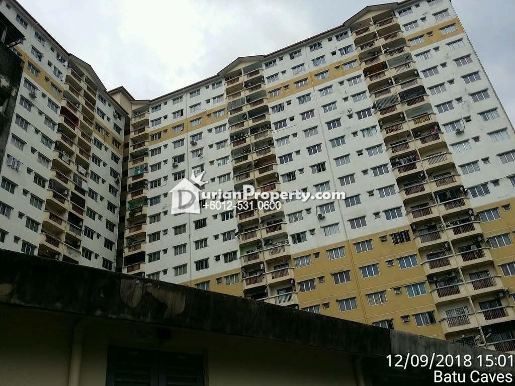 Apartment For Auction at Laksamana Puri, Batu Caves