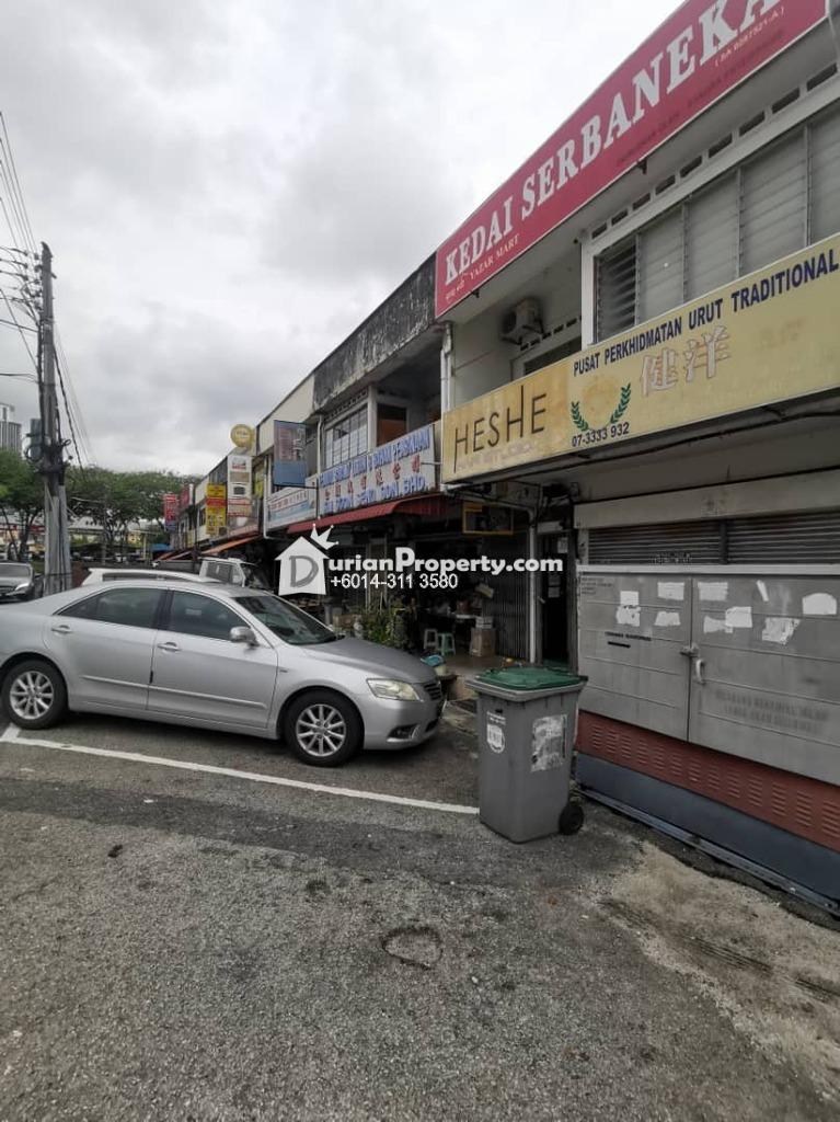 Shop For Rent at Taman Pelangi, Johor Bahru