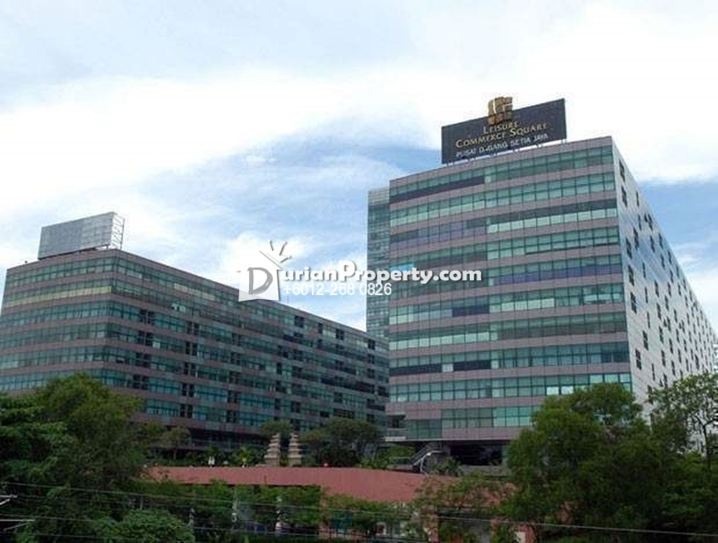 Shop For Rent at Leisure Commerce Square, Bandar Sunway