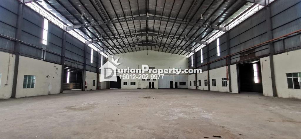 Semi-D Factory For Rent at Hi-Tech, Semenyih