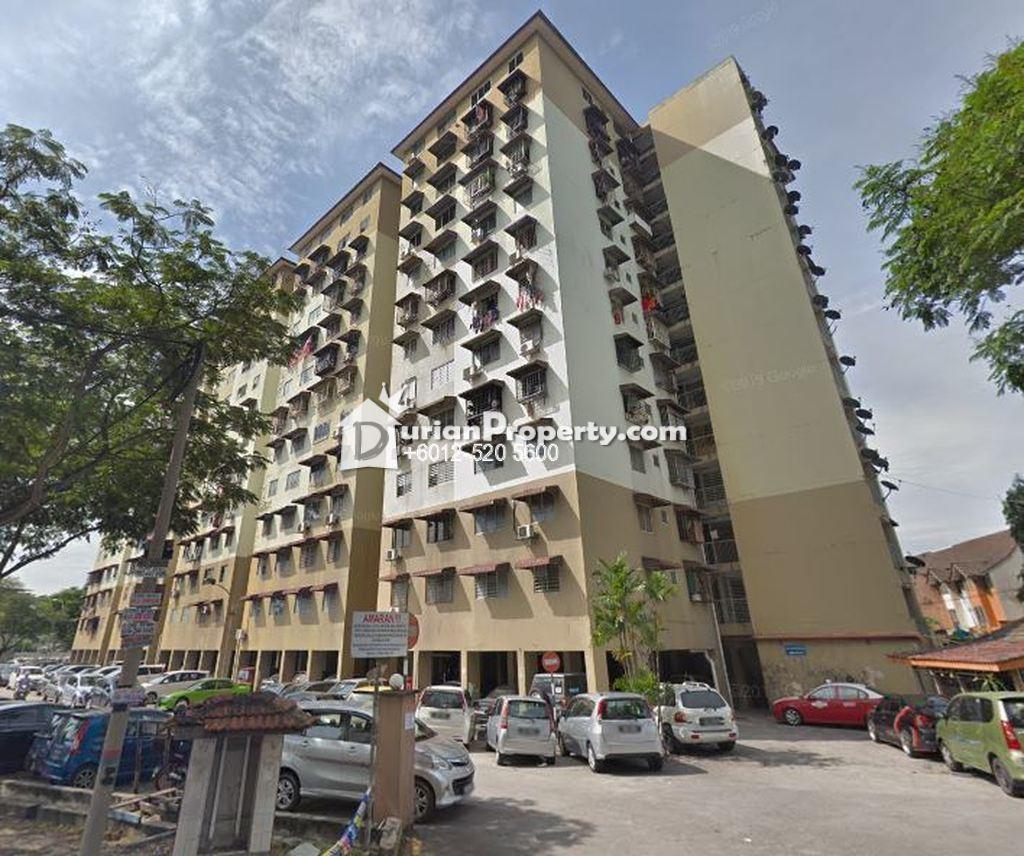 Flat For Auction at Pangsapuri Sentul Utama, Taman Sentul Utama