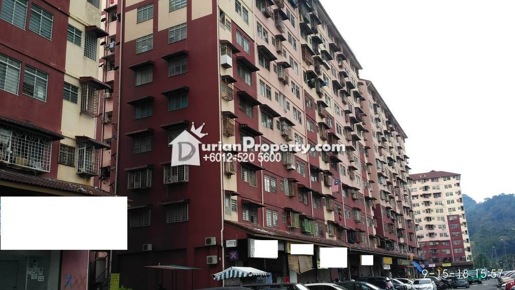 Flat For Auction at Pangsapuri Desa Lembah Permai, Ampang