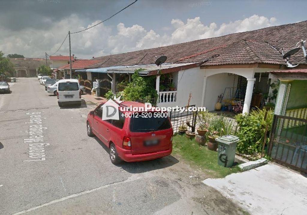 Terrace House For Auction at Taman Mentiga Jaya, Pekan