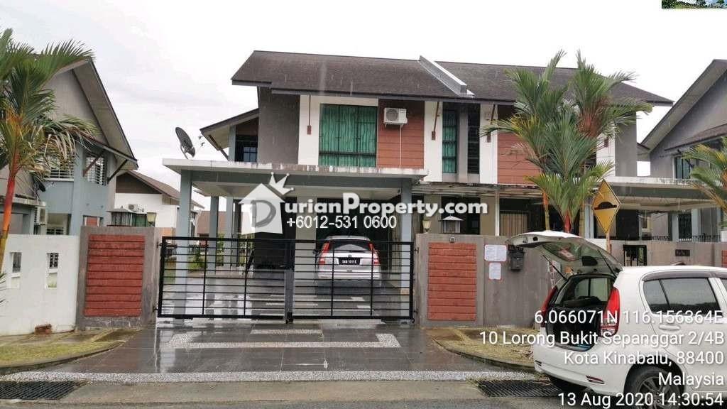 Semi D For Auction at Taman Bukit Sepangar, Kota Kinabalu