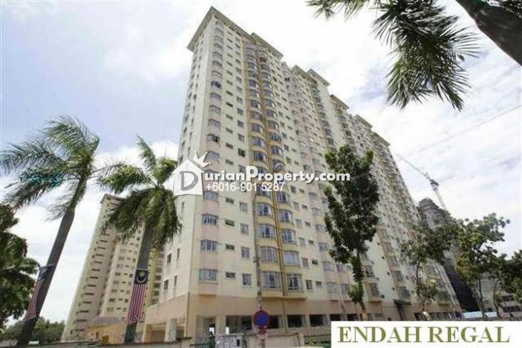 Condo For Sale at Endah Regal, Sri Petaling
