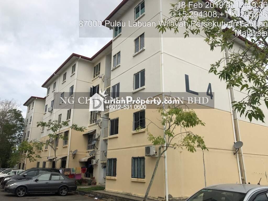 Apartment For Auction at Taman Mutiara, Kota Kinabalu