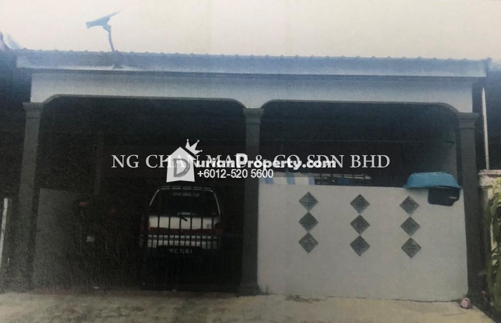 Terrace House For Auction at Taman Kenari, Kulim