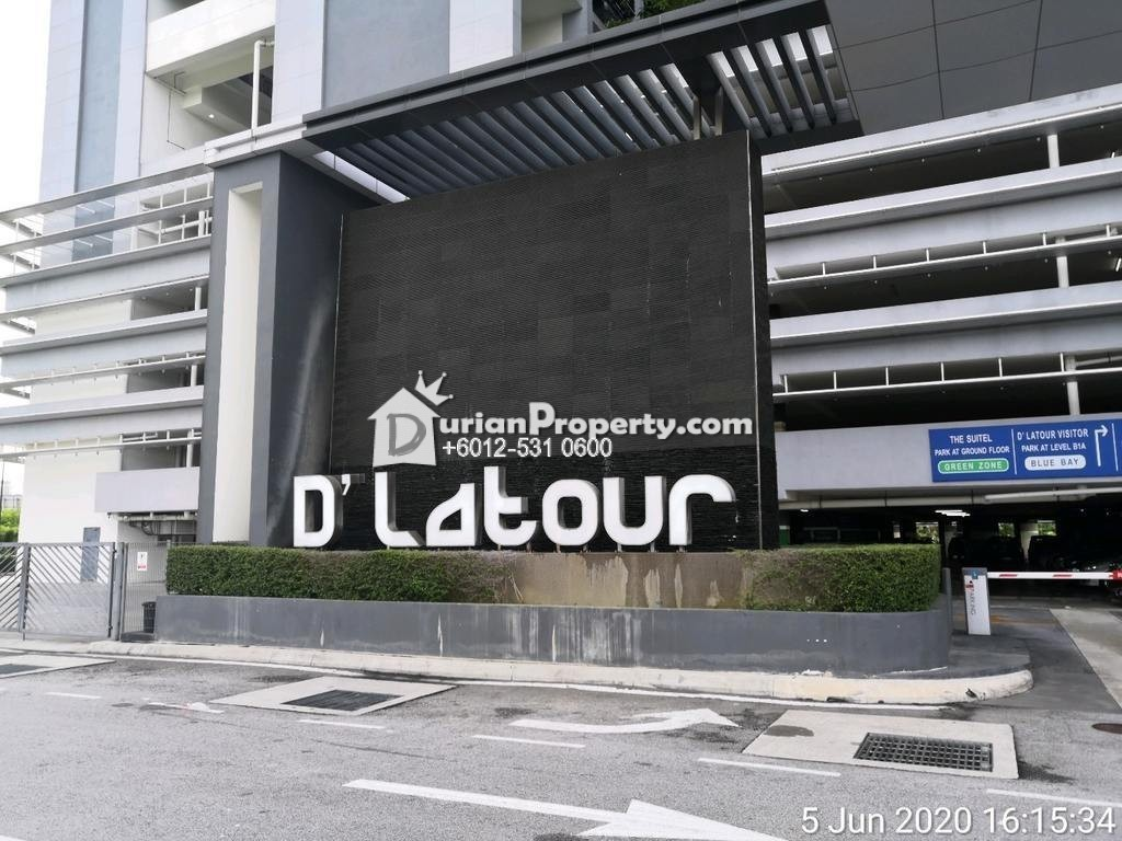 Apartment For Auction at D'Latour, Bandar Sunway