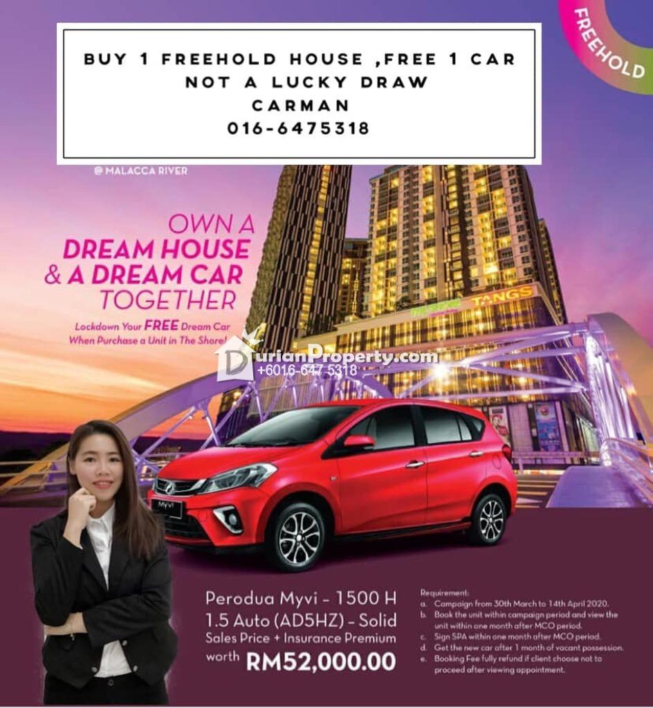 Condo For Sale at The Shore, Bandar Melaka